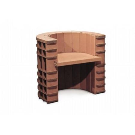 Fauteuil en carton eco-friendly h25205
