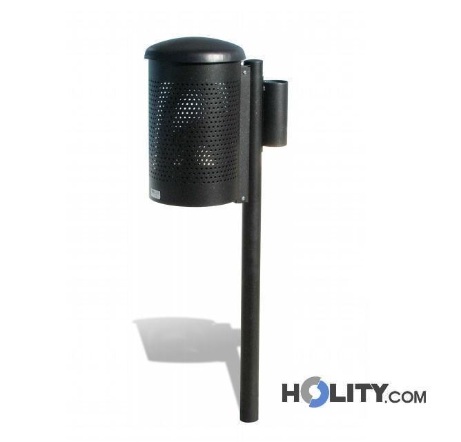 vous tes la recherche de poubelle en acier avec cendrier et couvercle 25 lt h140129. Black Bedroom Furniture Sets. Home Design Ideas