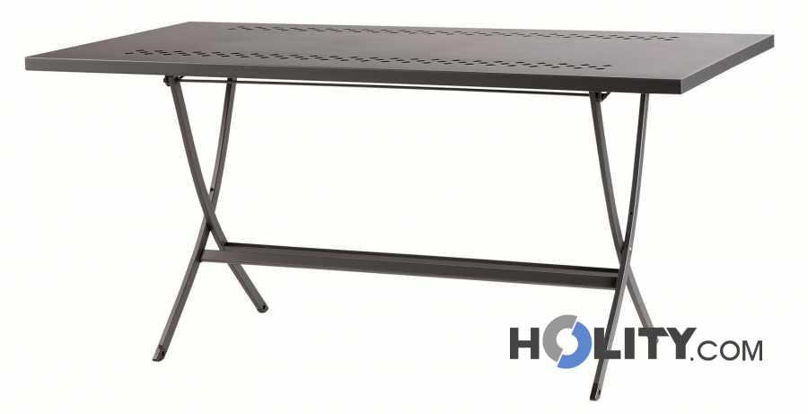 Vous êtes à la recherche de tavolo pieghevole in acciaio h