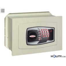 Cassaforte a muro con combinazione elettronica digitale h0307