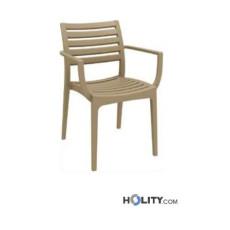Chaise design en polypropylene -h20920