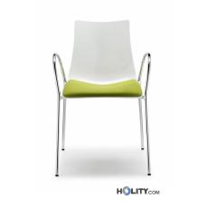 Chaise design avec accoudoirs h74201