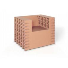 Fauteuil en carton eco-friendly h25210