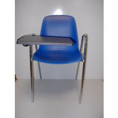 Chaise de conference avec accoudoirs et tablette -h15947