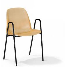 Chaise de conference avec accoudoirs -h15948