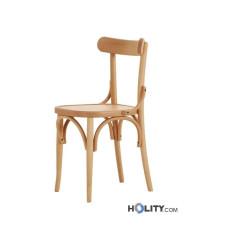 Chaise bistrot en bois de design h20905