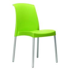 Chaise en polyéthylène h7426-vert pistache