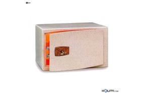 Cassaforte a mobile per hotel con chiave h0302